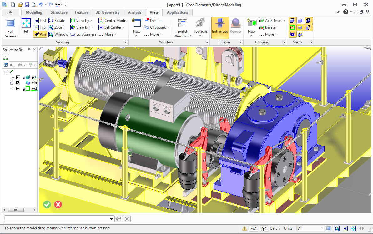 Creo elements direct modeling is an advanced 3d solid modeling system